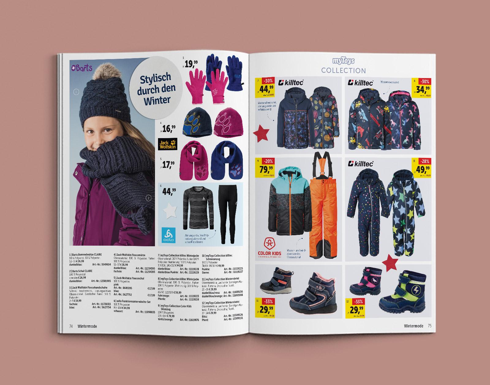 myToys – Winterkleidung